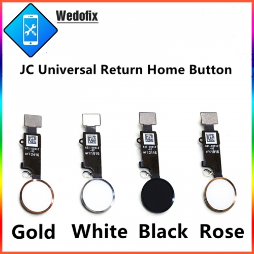 JC Final Version Universal iPhone Home Button with Return Function for iPhone 7 7P 8 8P
