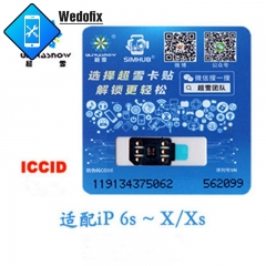 RS Verion Heicard Carrier Unlock Chip Rsim Chip with ICCID Mode for iPhone 6 7 8 X Xr Xs Xsmax 11 11pro 11promax