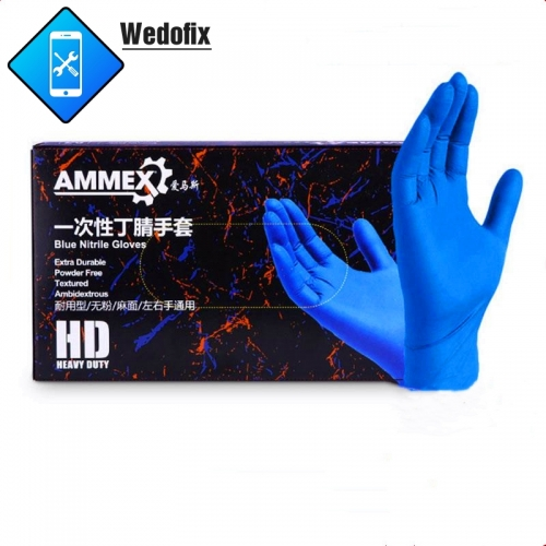Brand 100pcs/box Nitrile Gloves for Covid-19