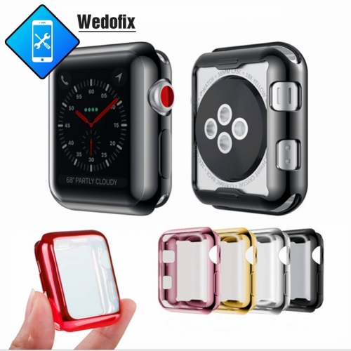 Soft Clear TPU Apple Watch Protector Case ProBefit 360 Slim iWatch Screen Protector