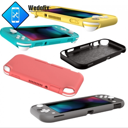 For Nintendo Switch Lite Liquid Silicone Case Anti-drop Protective Shell NS Protector Case