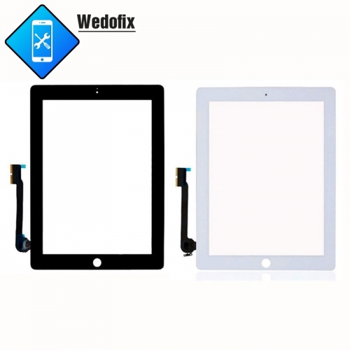 iPad 3/4 Touch Screen Digital with Flex Cable Replacement Parts