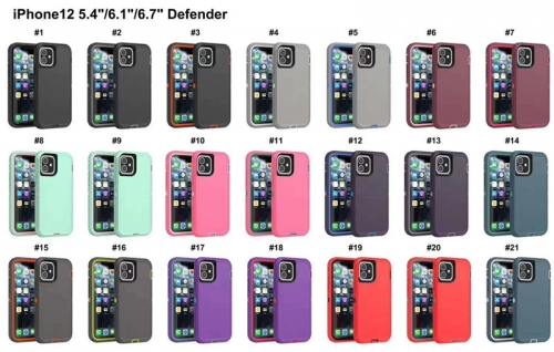 OEM Phone Case Anti-drop Phone Protective Case for iPhone 12 Mini 12pro/max