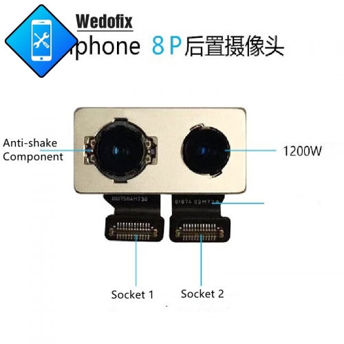 Original Replacement Rear Camera for iPhone 8 8P with Factory Code