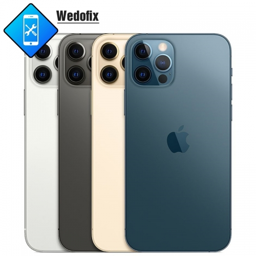 OEM iPhone 12 pro/max Back Cover Glass with Logo Bigger Camera Hole