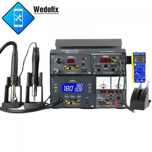 Mechanic 4 in 1 Hot Air Rework Station Solder Iron Station DC power Supply for Microsolder Repair