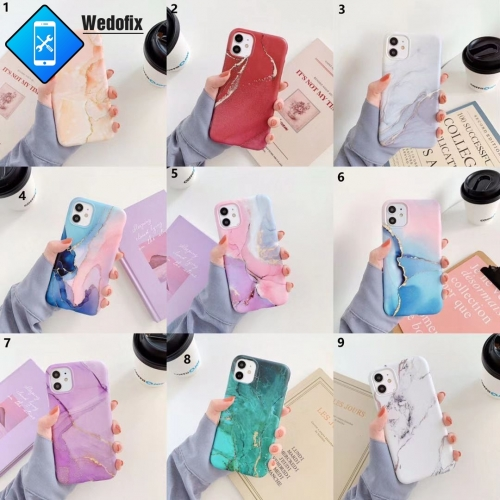 Marble Phone Protector Case Soft Cover Case for iPhone 7 8 X Xsmax 11 11promax 12 12promax