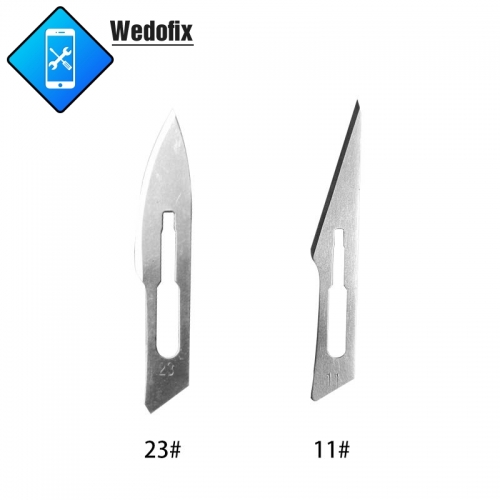 Stainless Steel Surgical Blades Set Scalpel Blade with Handle for Mobile Phone Repair